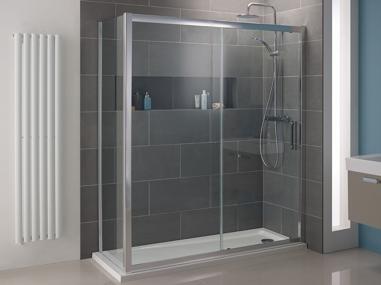 shower enclosures tray wetroom x collections kartell enclosure koncept room