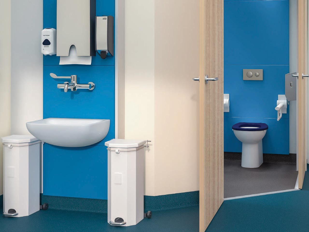 Concealed Cisterns and Exposed | Urinals | Bluebook | IdealSpec