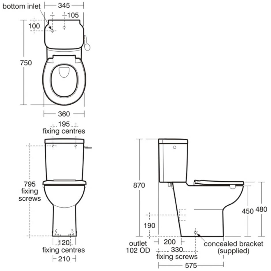 contour 21 close coupled wc suite close coupled toilets toilets