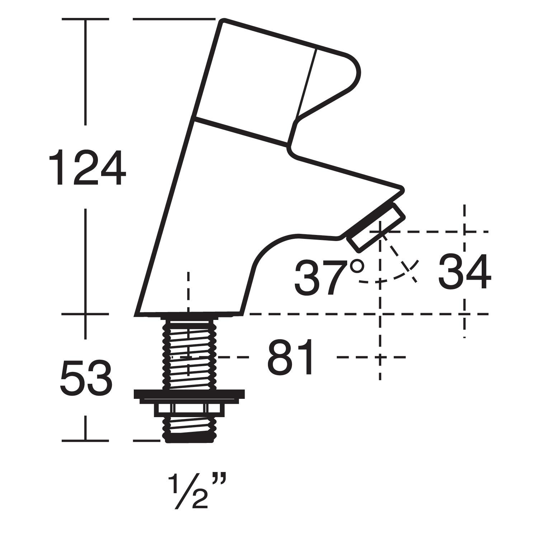 Contour 21 Splash 40cm Schools Basin Handrinse Washbasins Bluebook American Standard Urinal Wiring Diagram Download