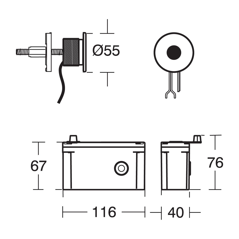 sensorflow 21 electronic shower valve  u0026 sensor