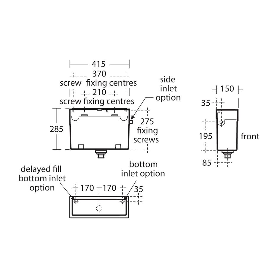 Accessories Remote Control Concealed Side Mount Diagram And Parts