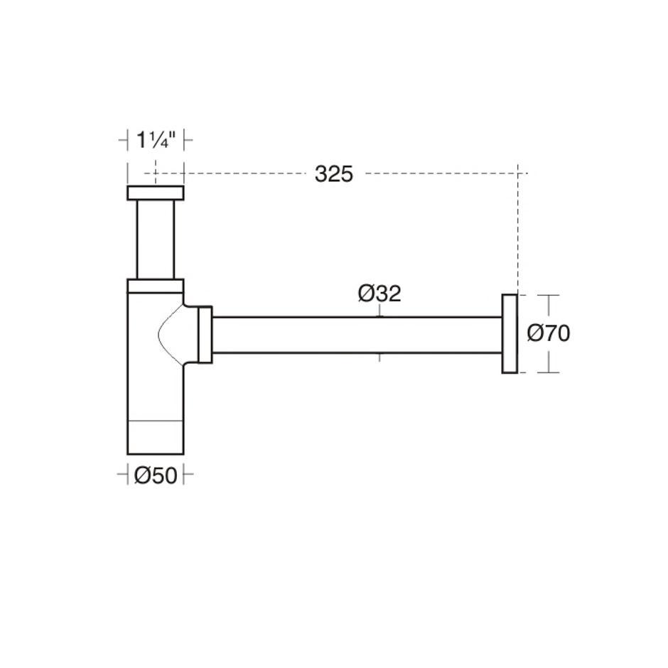 Concept Air Cube 50cm Semi-Countertop Washbasin | Semi