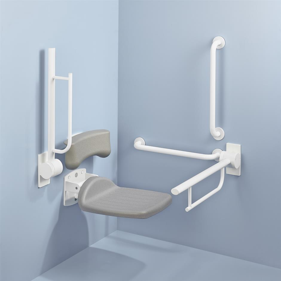 Amazing Hinged Shower Seat Vignette - Bathroom and Shower Ideas ...