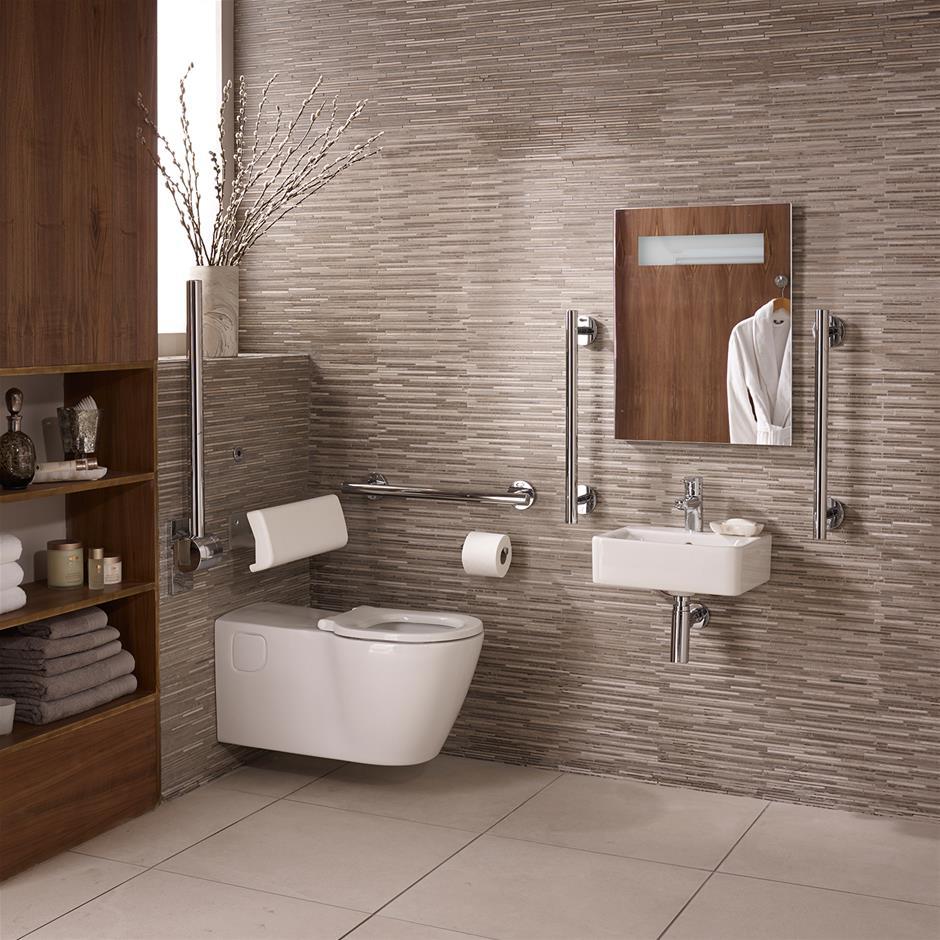 Ensuite Bathrooms: Concept Freedom Ensuite Bathroom Pack With 40cm Basin