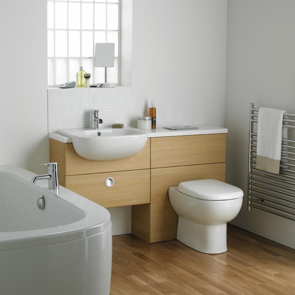 Jasper Morrison 55cm Semi Countertop Washbasin Semi Countertop Washbasins Bluebook Idealspec
