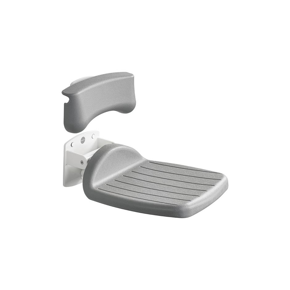 Folding Shower Seat 650m | Shower Seats | Adjustable Brackets and ...