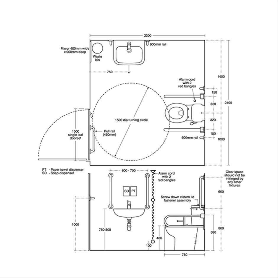 Doc M Shower Room Pack Additional Wc Large Washbasin Bl Wh Br Wiring Diagram 3 Close Coupled Pan