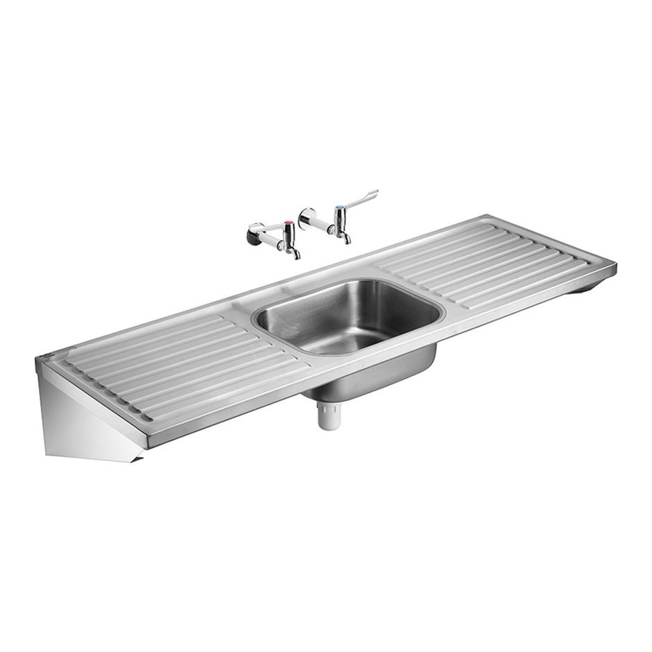 HBN 00-10 HTM64 (ST B) Doon Single Bowl Double Drainer Sink ...
