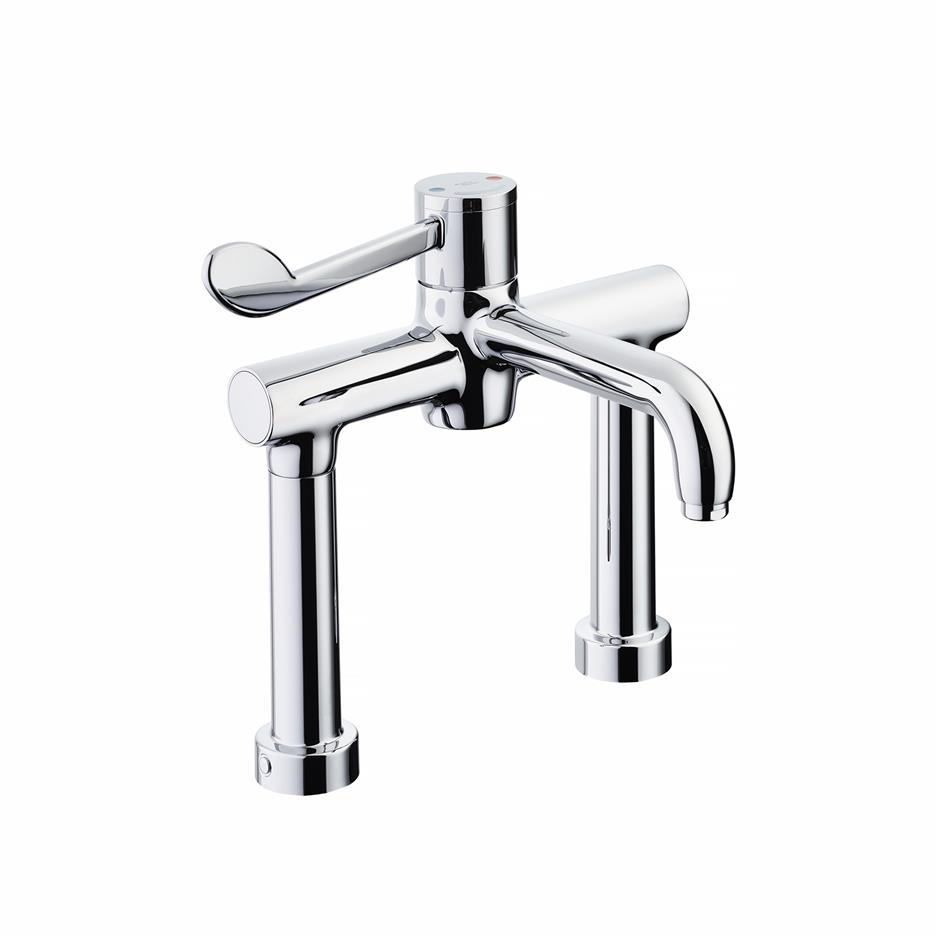 Markwik 21 2 Hole Thermostatic Basin Mixer Basin Taps Taps
