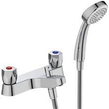 Sandringham 21 bath shower 2 hole mixer with shower set