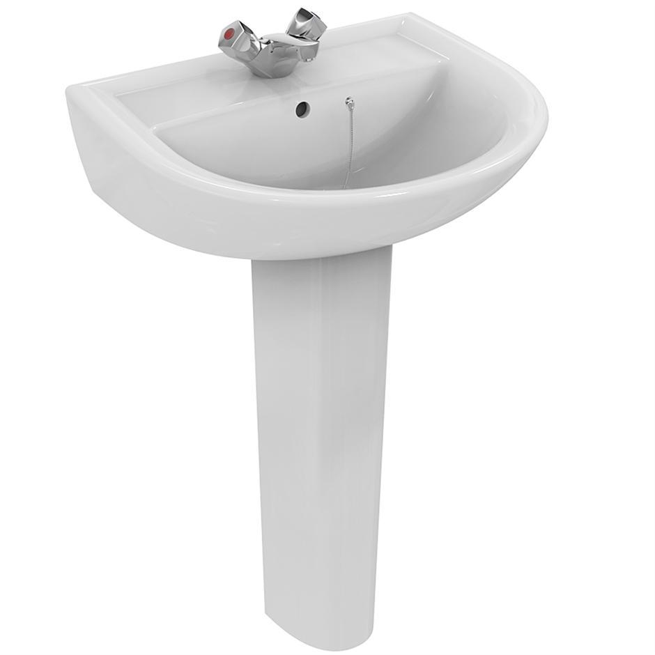 Sandringham 21 Washbasin 55cm Pedestal Or Wall Washbasins Bluebook Idealspec
