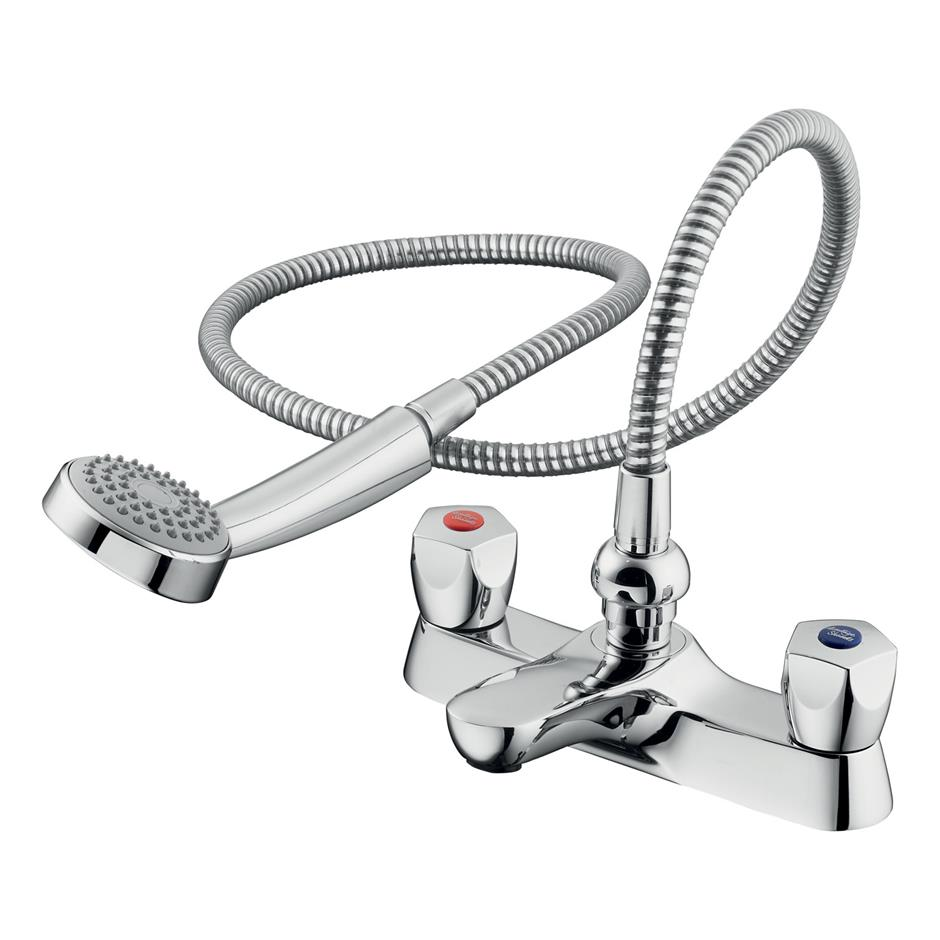 Mixer Bath Taps With Shower sandringham 21 bath shower mixer | bath shower mixers | taps | bluebook