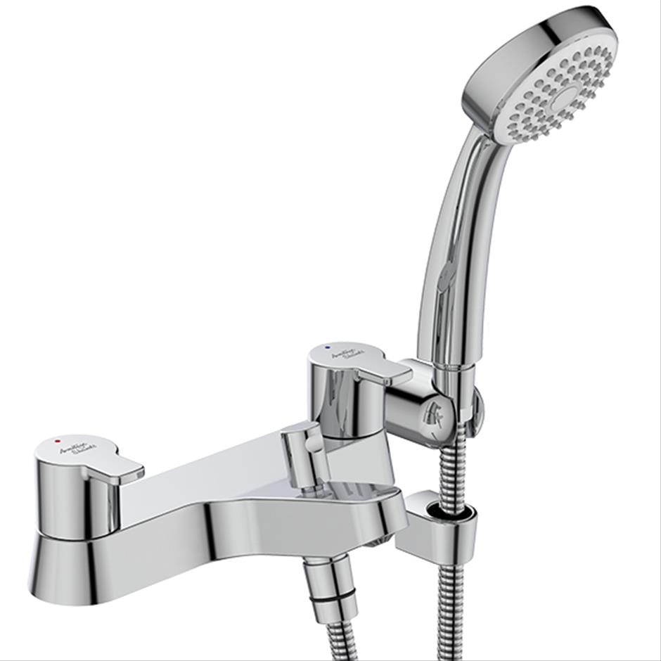 Bristan Lever Bath Shower Mixer with 3 Inch Levers
