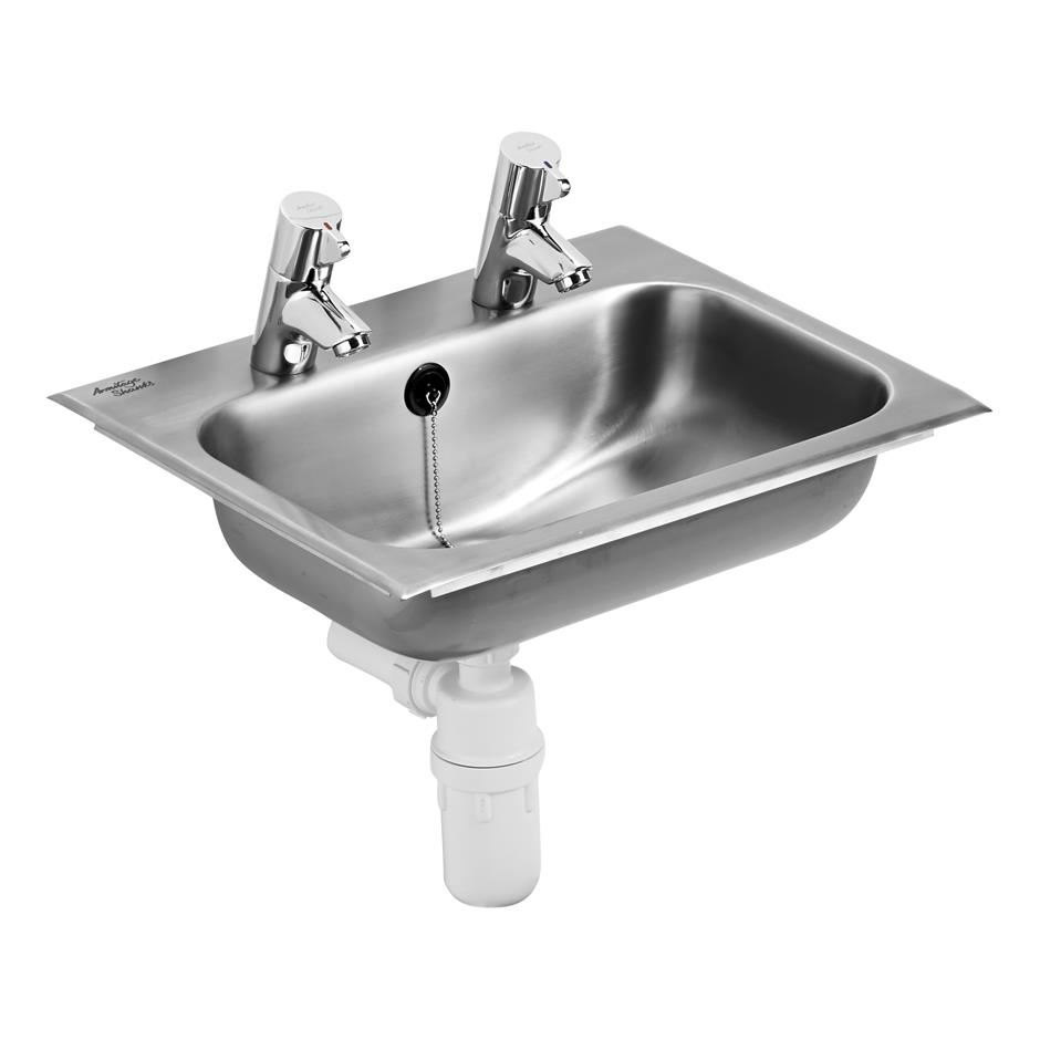 Berwick 2 Stainless Steel Countertop Washbasin | Countertop ...