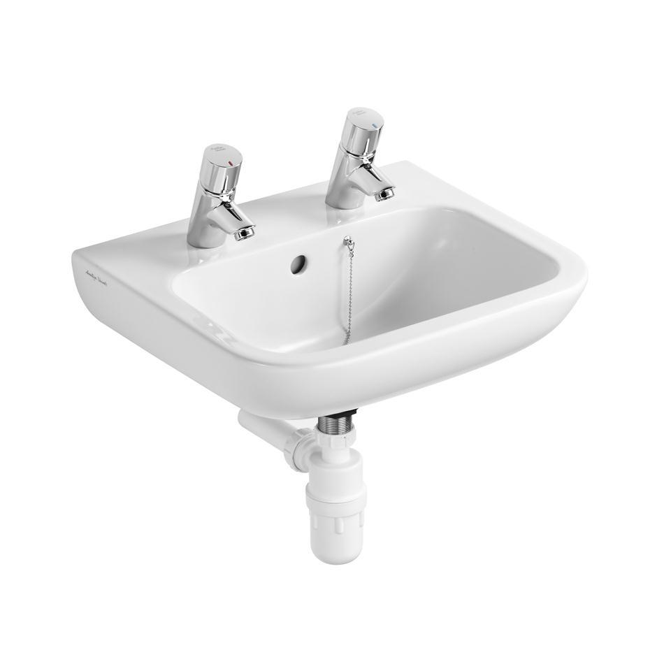 Portman 21 50cm Washbasin Pedestal Or Wall Washbasins Bluebook Idealspec