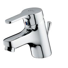 Alto one hole basin mixer with pop-up waste - single lever.