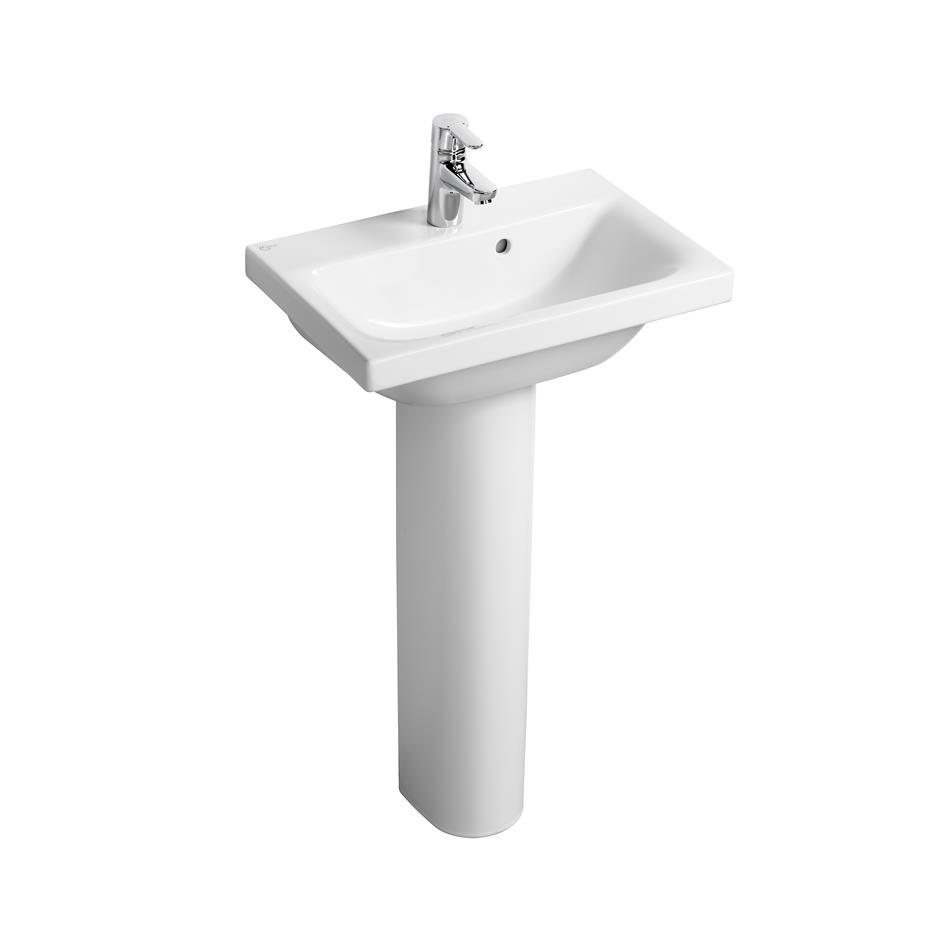 Merveilleux Concept Space 50/55cm Washbasin   Short Projection | Pedestal Or Wall |  Washbasins | Bluebook