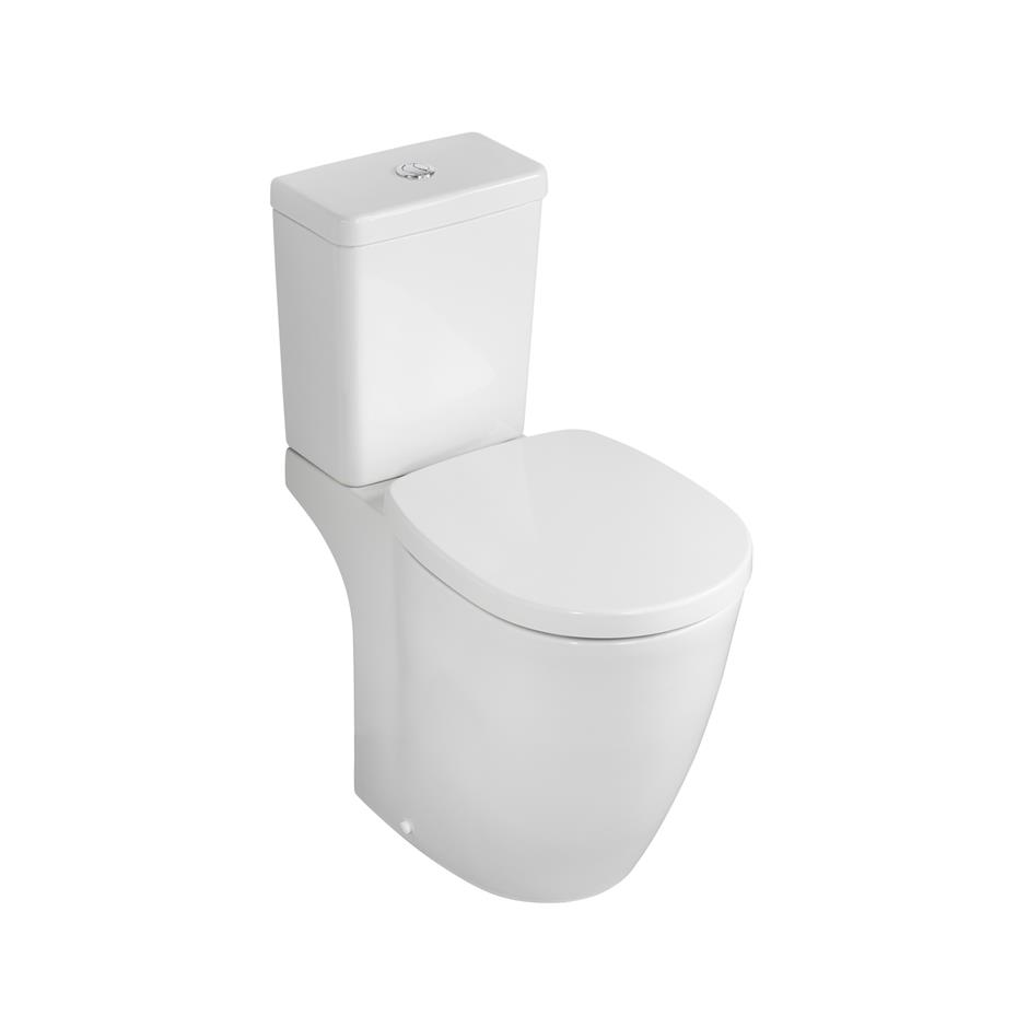 ECO Comfort Raised Height Close Coupled Toilet WC WATER SAVING Soft Closing Seat