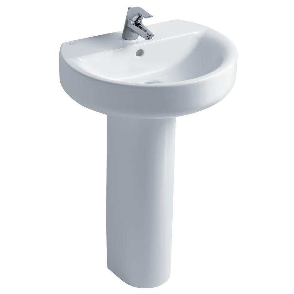 Concept Sphere 50 55cm Washbasin Pedestal Or Wall Washbasins Bluebook Idealspec