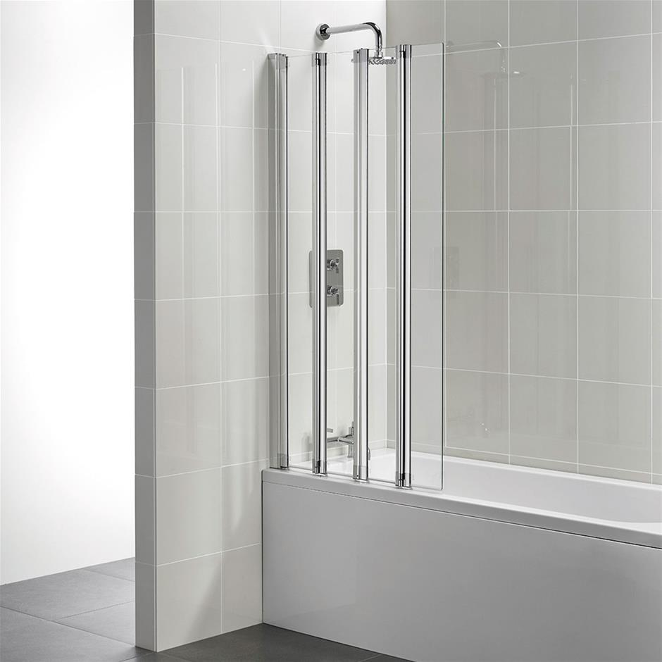 Incroyable Folding Bath Screen. T9925 New Connect 4 Panel ...
