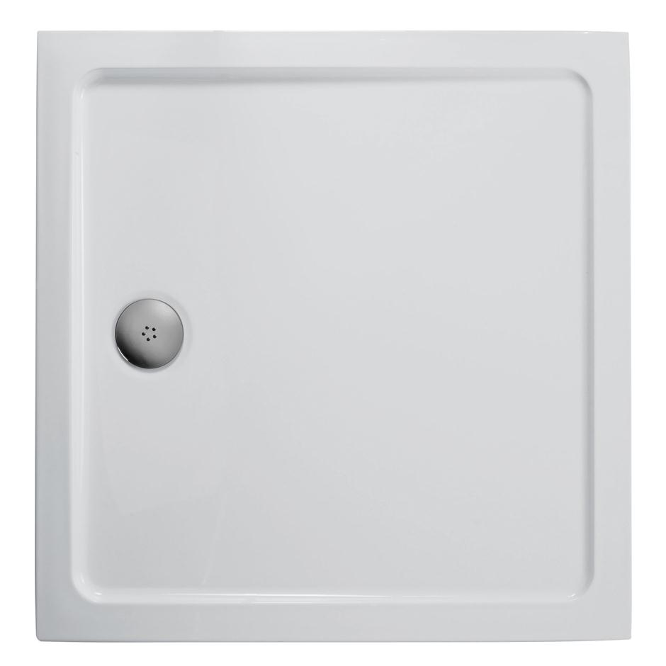 Idealite Low Profile Square Flat Top Shower Tray Square