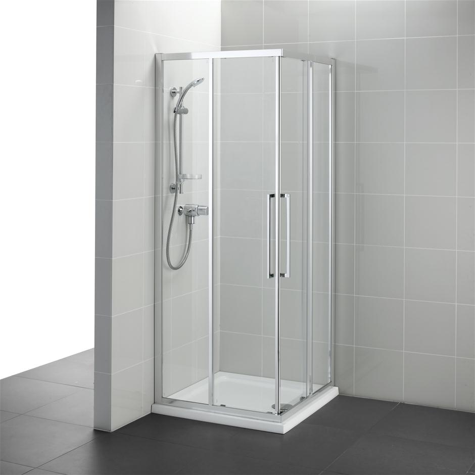 Kubo Corner Entry Enclosure Corner Shower Enclosures