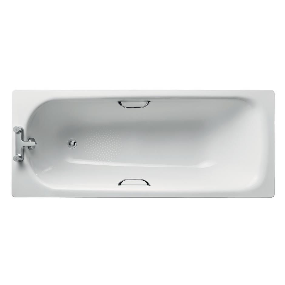 Simplicity Water Saving Steel Bath 170x70cm 130 Litres