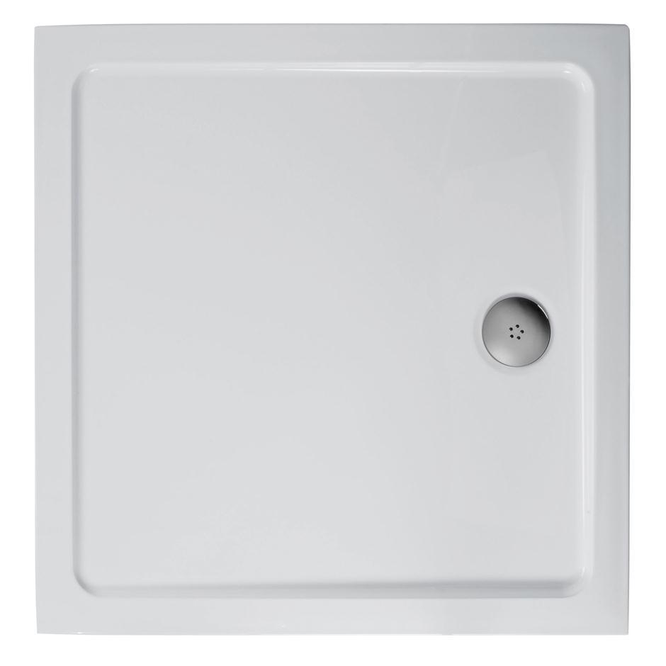 Bathroom Shower Top View - Simplicity low profile square flat top shower tray square shower trays bluebook