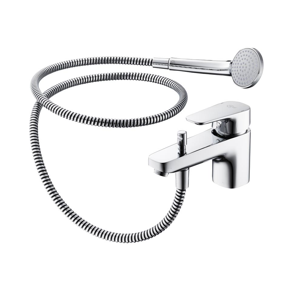 Tempo 1 Hole Bath Shower Mixer | Bath Shower Mixers | Taps | Bluebook