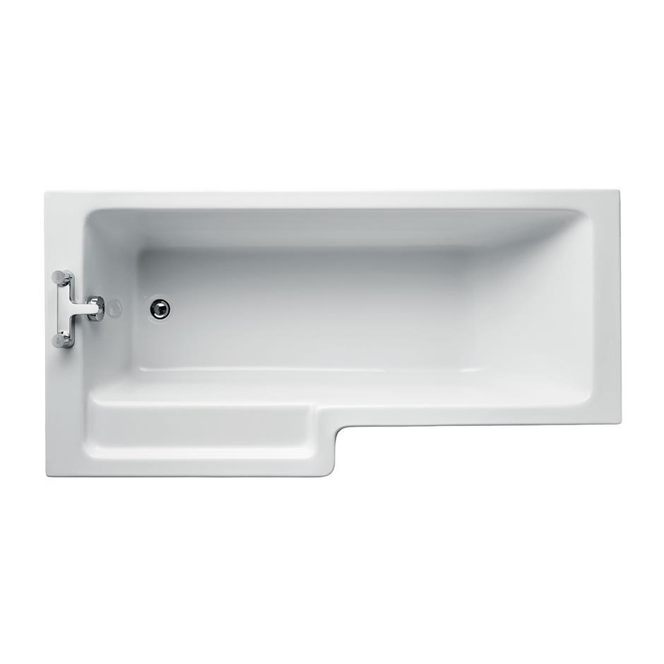 Tempo Cube 170 x 85cm Shower Bath | Shower | Baths | Bluebook