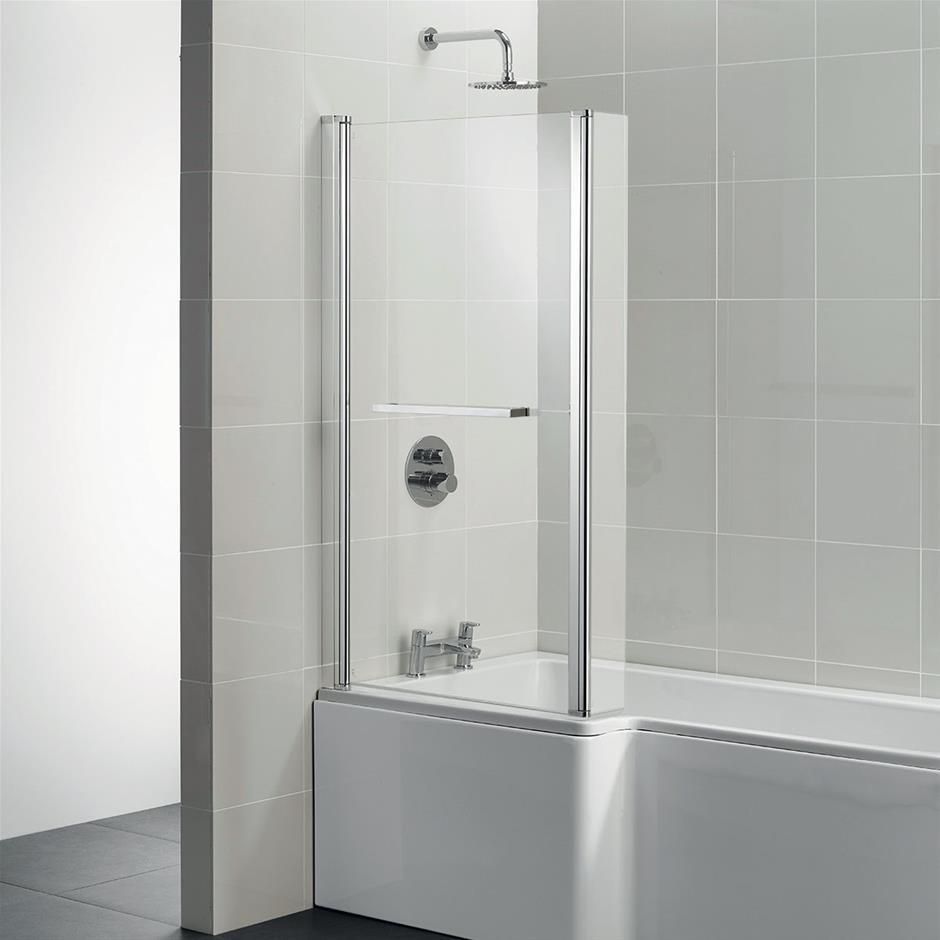 Tempo Cube Square Shower Bath Screen   Bath Screens   Baths   Bluebook