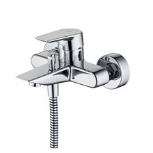 Tesi single lever exposed bath shower mixer