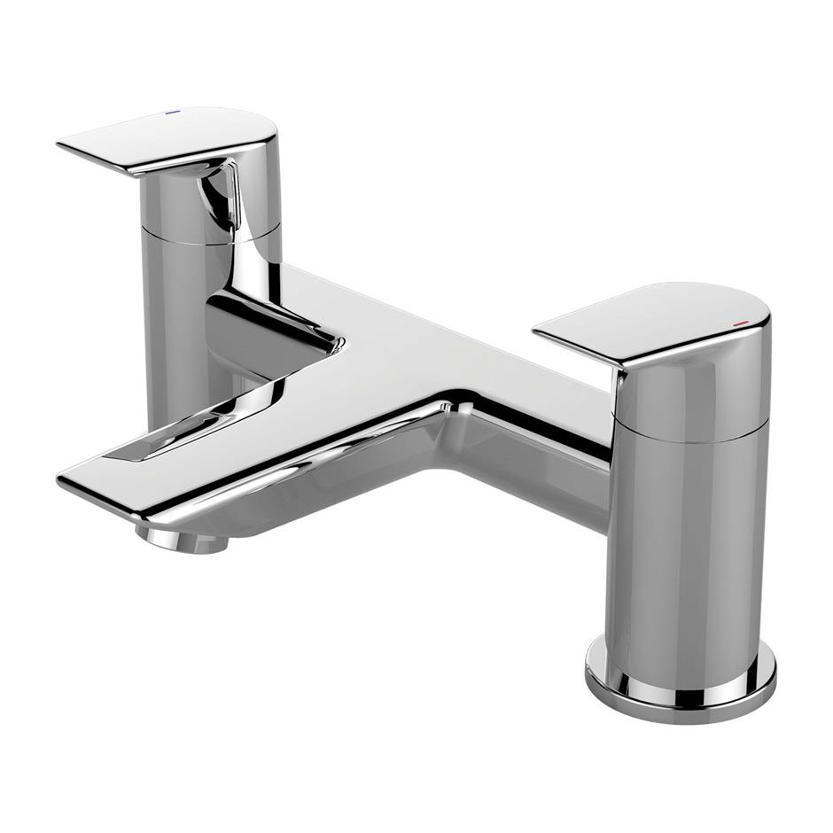 Tesi 2 Hole Dual Control Bath Filler | Bath Taps | Taps | Bluebook