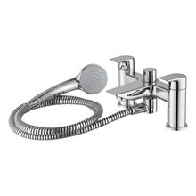 Tesi 2 hole dual control bath shower mixer with shower set